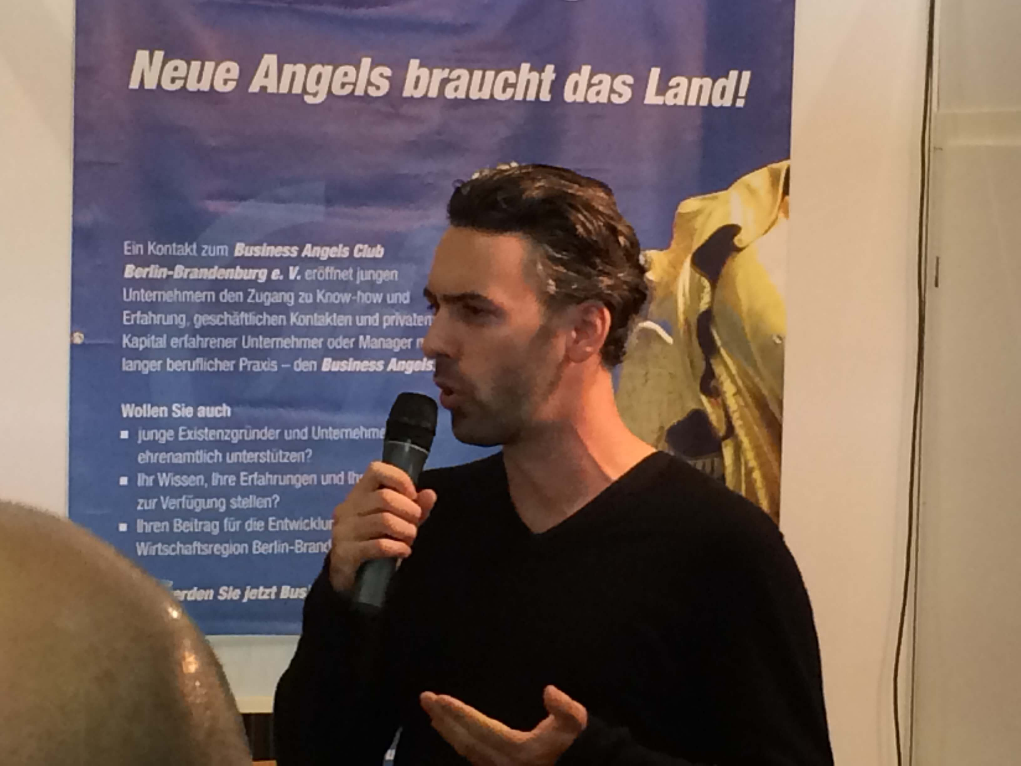 Speed dating mit business angels