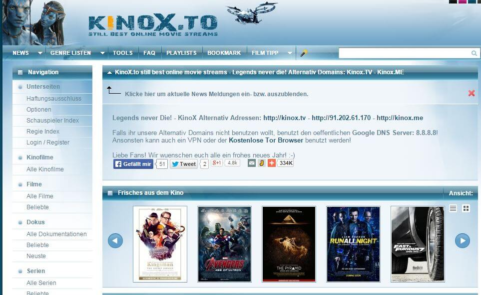 Kinofilme Streamen Illegal