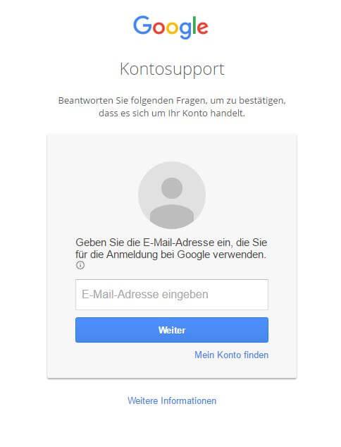 Anleitung zum Google Passswort ändern