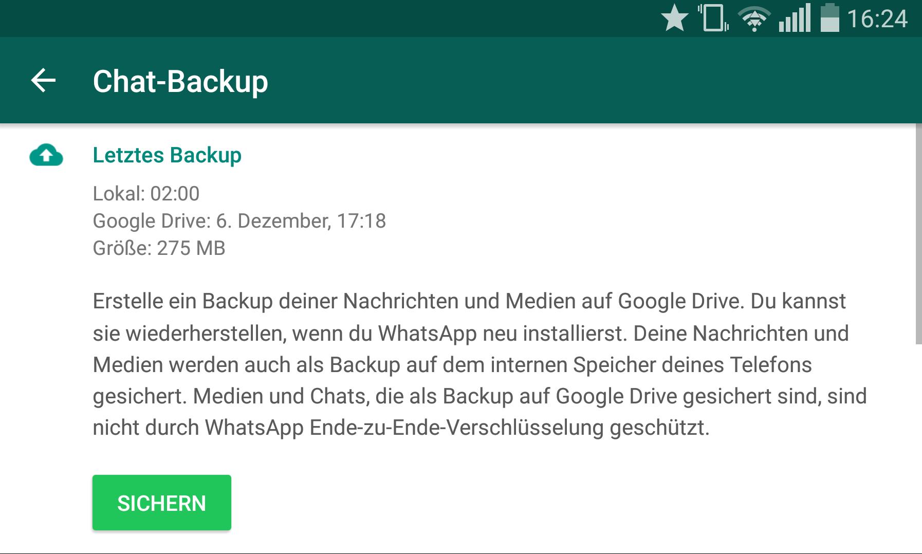 Whatsapp Daten Auf Sd Karte.Whatsapp Chats Wiederherstellen So Funktioniert S Expertiger