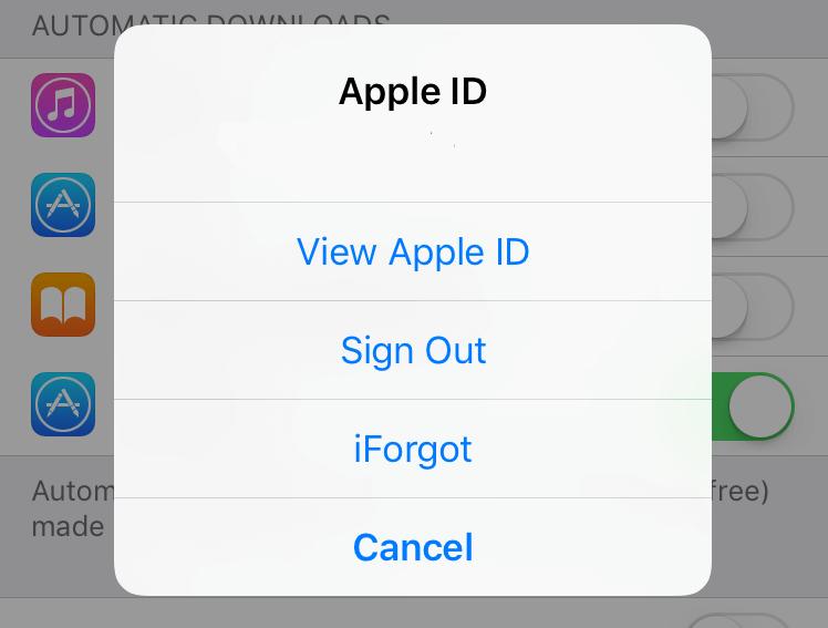 apple passwort im iphone ändern