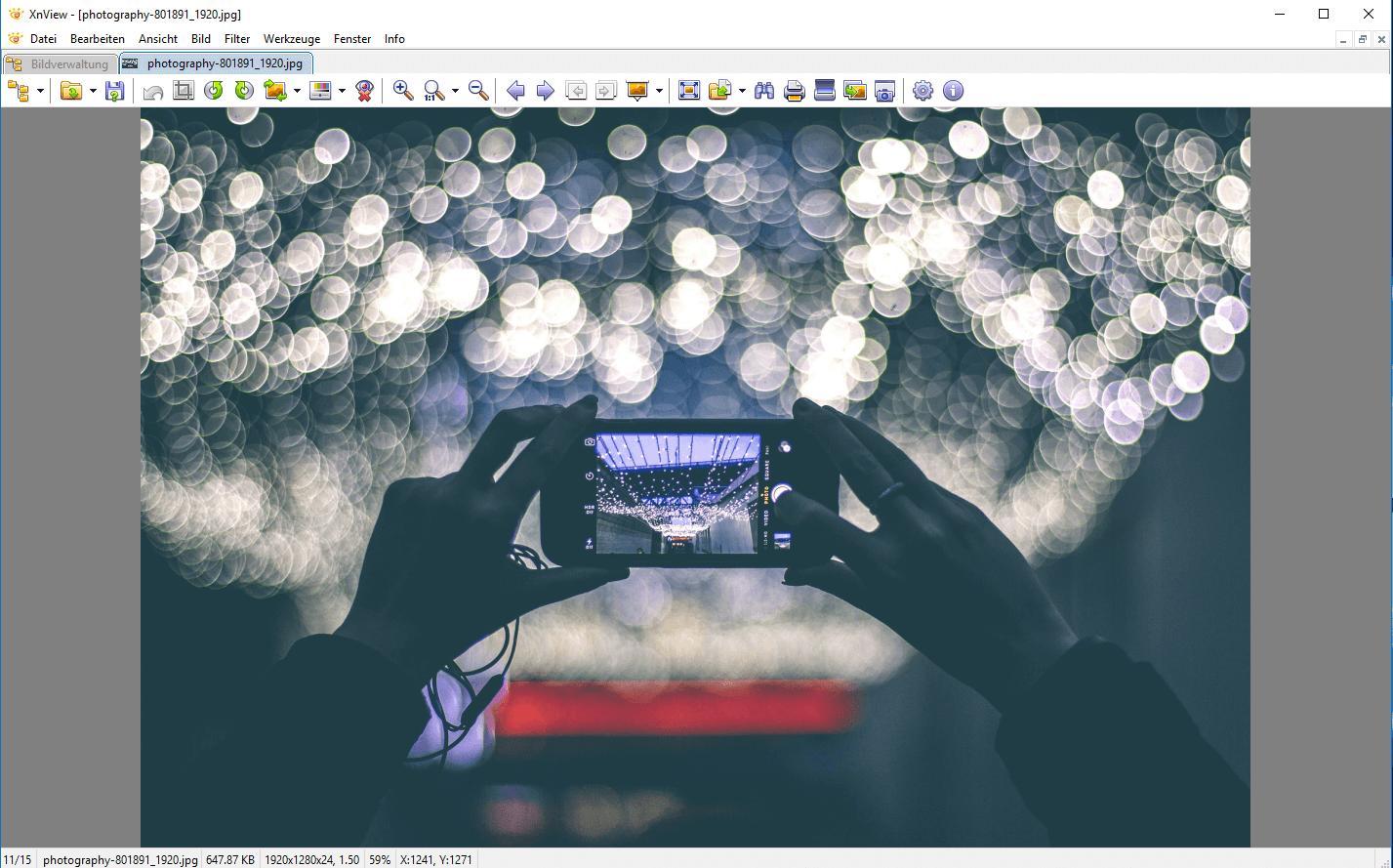 Alternative XnView zu Photoshop von Expertiger
