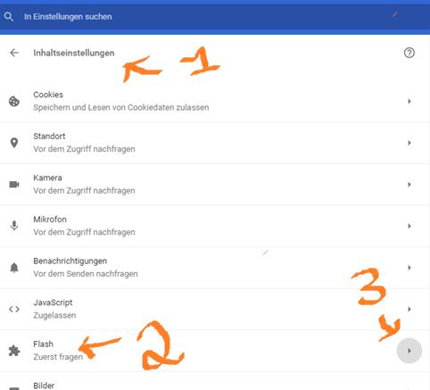 Anleitung zur Deaktivierung von Adobe Flash Player in Chrome