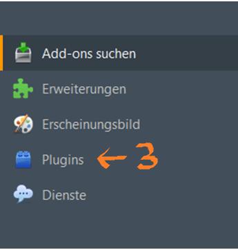 Anleitung zur Deaktivierung von Adobe Flash Player in Mozilla