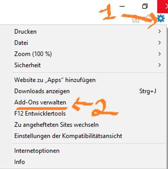 Anleitung zur Deaktivierung von Adobe Flash Player in Explorer