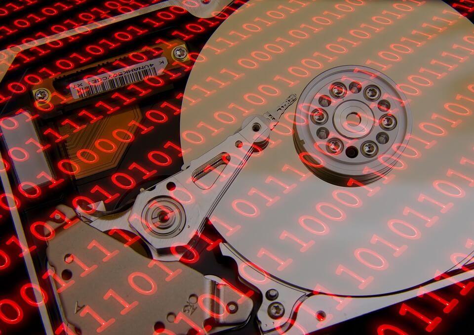 vollgemüllte Festplatte