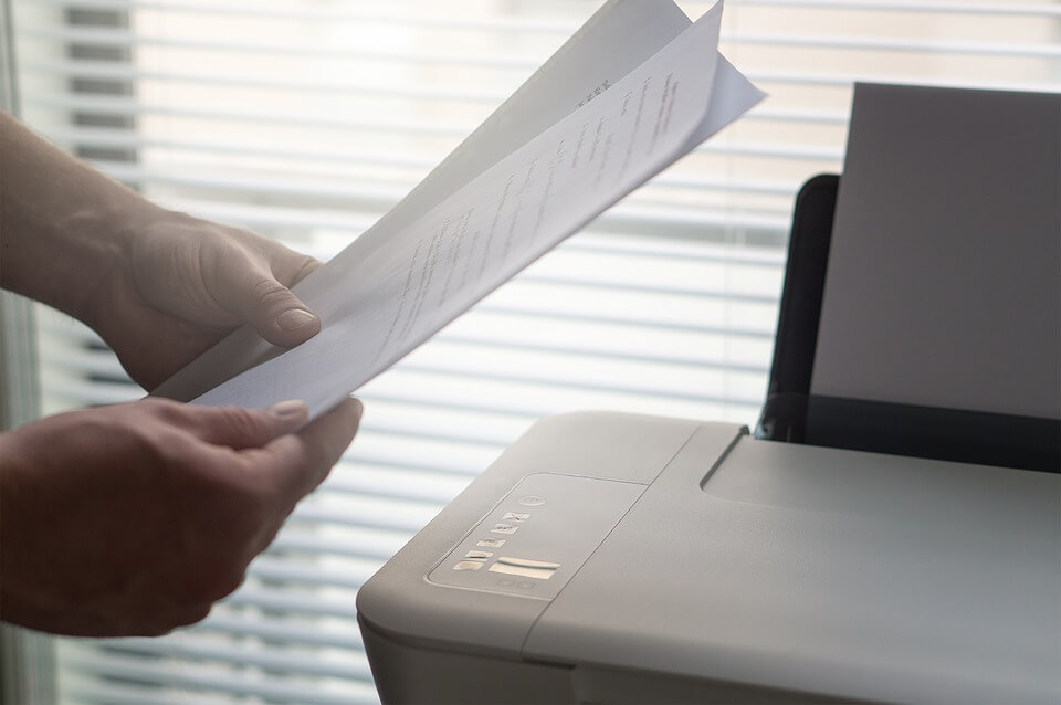 Laserdrucker Papier
