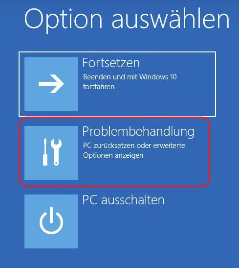 Windows im abgesicherten Modus starten Problembehandlung