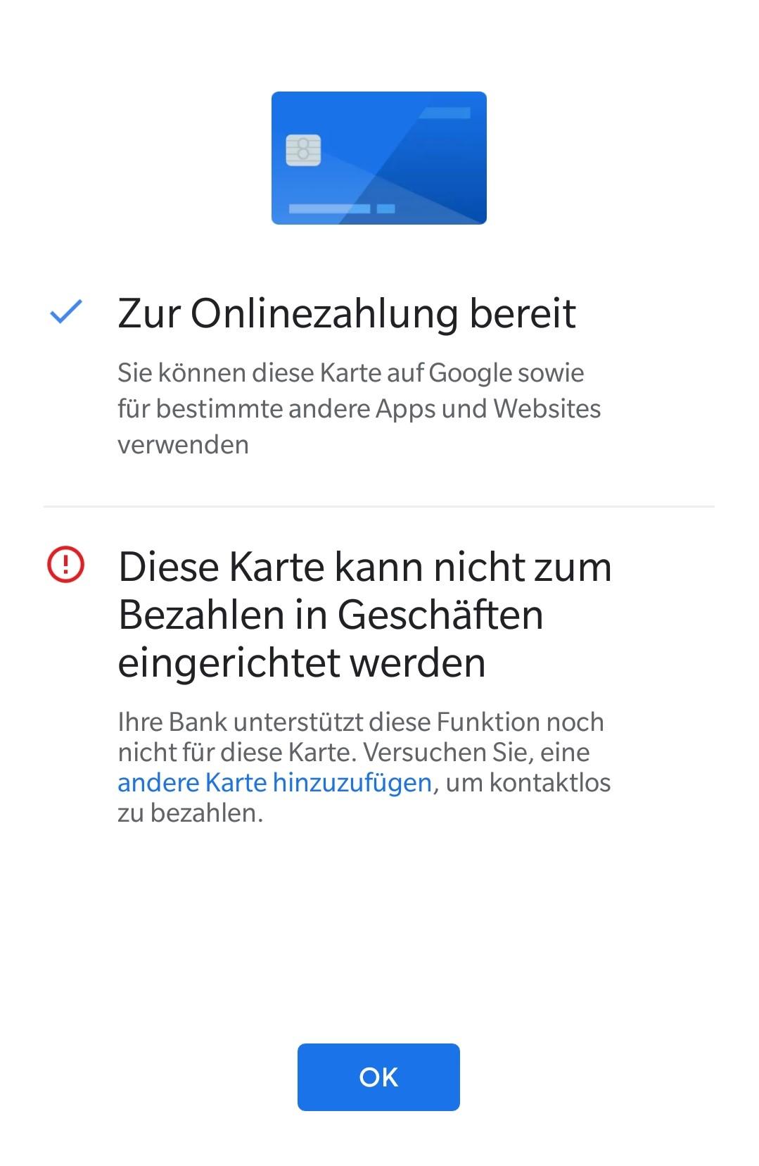 Google Pay einrichten: Zahlungsmöglichkeiten